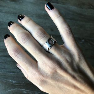 Dior Sterling Silver Ring